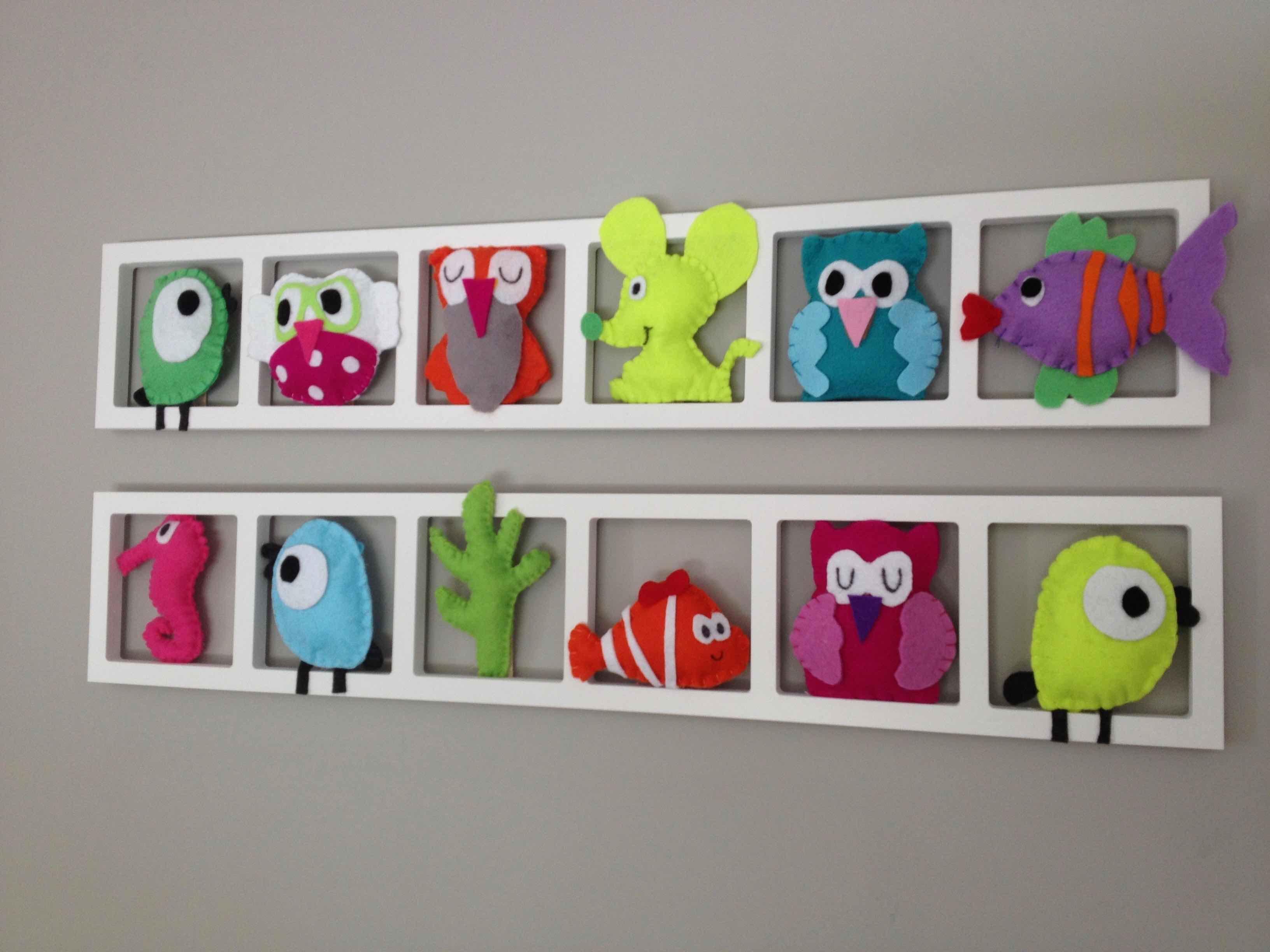 Deco Chambre Bebe Fille produits handmade décoration de chambre d'enfant animaux