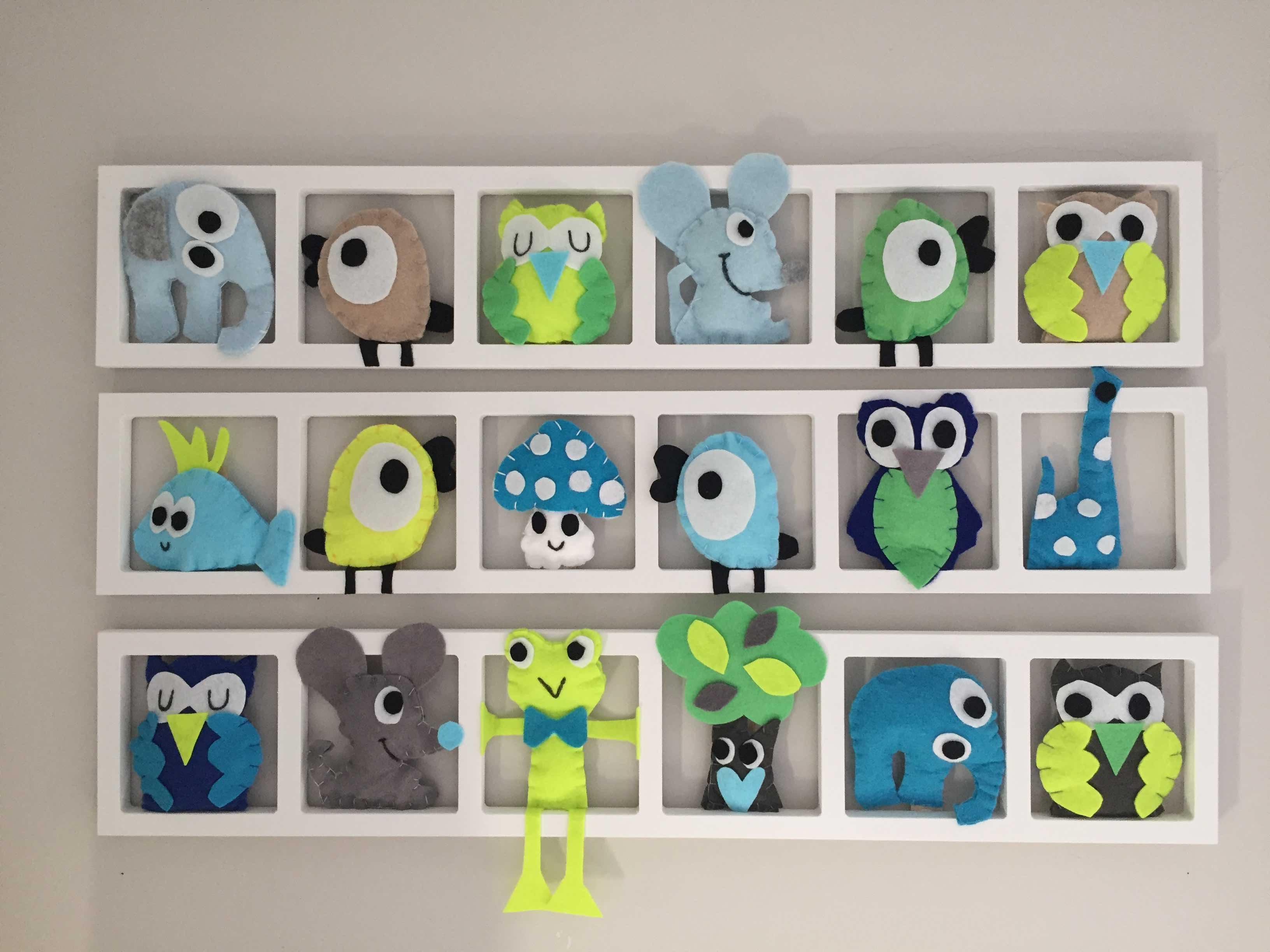 Deco Chambree Enfant Figurines De La Foret
