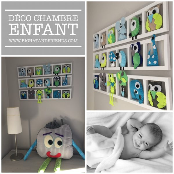 deco chambree enfant figurines de la foret