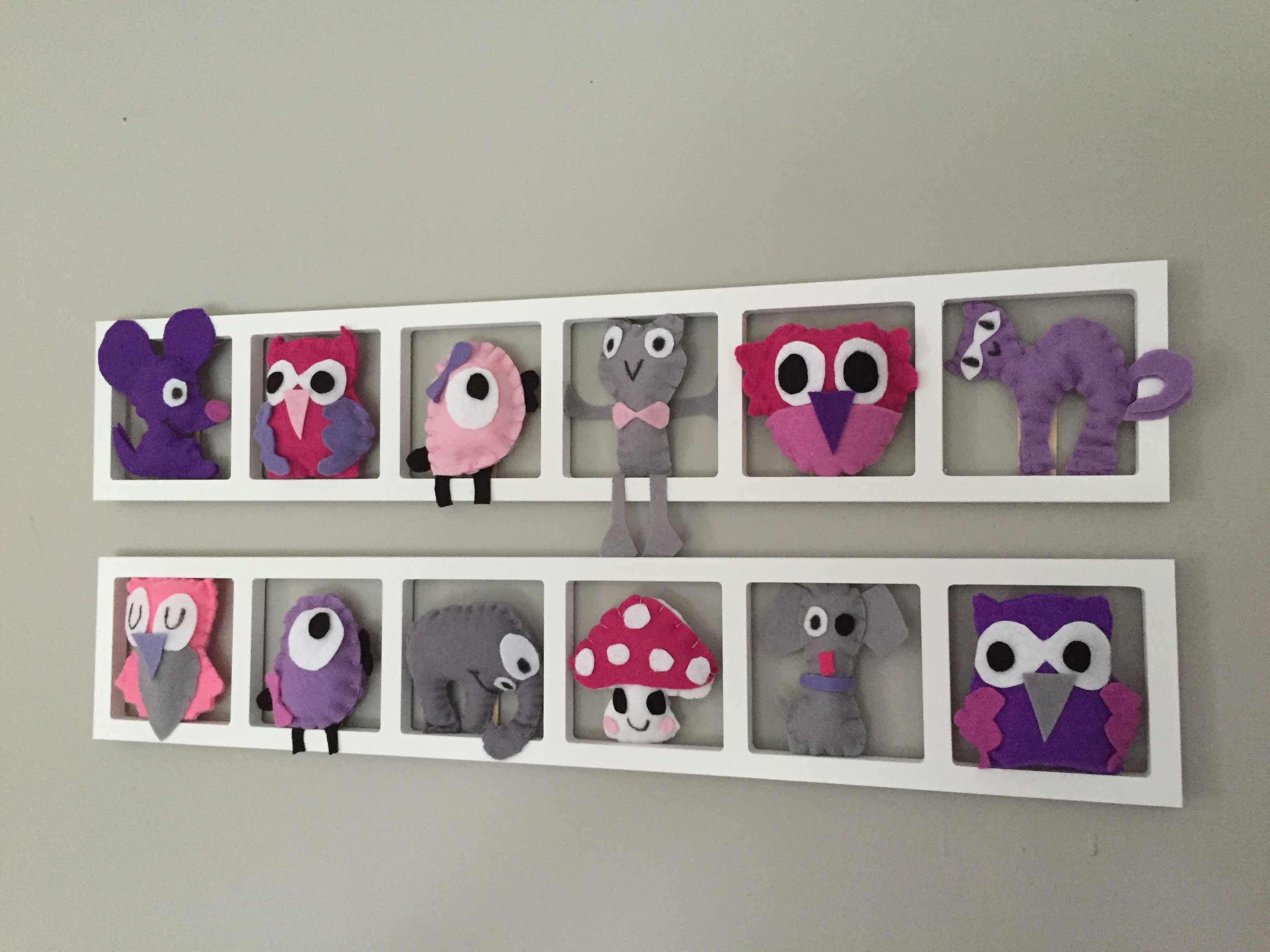 Deco Chambre Fille Fushia Et Gris deco murale « purply», tons gris fushia lila mauve, bichat 105