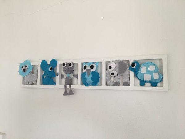 deco chambre bleu gris turquoise